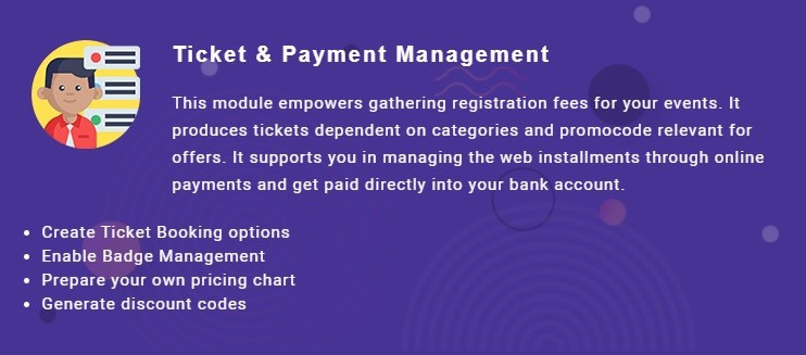 Ticket and payment management